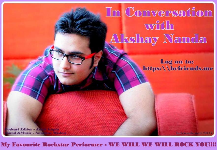 Akshay Nanda Poster